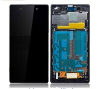 Replacement Lcd assembly with frame for Sony xperia z2 L50W D6502 D6503