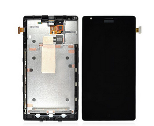 Replacement lcd assembly with frame for Nokia lumIa 1520