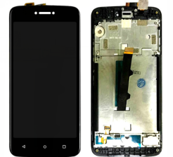 Replacement Lcd Assembly with frame for Moto c XT1750 XT1755