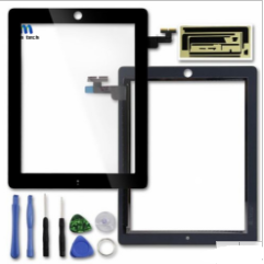 Replacement Touch screen digitizer with adhesive and tools For iPad 2 3