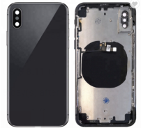 Replacement back housing Middle frame Back Cover for  iPhone X