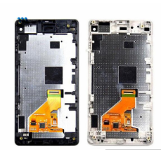 Replacement LCD Display Digitizer Assembly with frame For Sony Xperia Z1 Mini Compact D5503 M51W