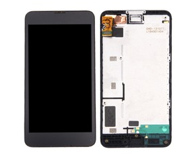 Replacement LCD Display Digitizer Assembly with frame For Nokia 630