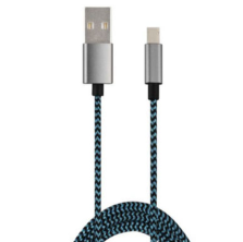 Nylon Fabric Braided Sync and Charge USB Cable for Type-C Device