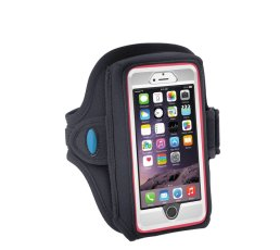 Water Resistant Sports Armband with Key Holder for iPhone 6 6S 7 8 X