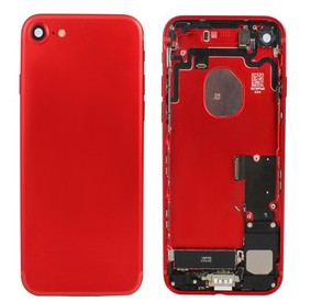 Full red back cover housing for iPhone 7 7 plus