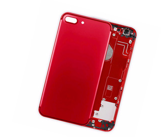 Replacement back cover housing  for iPhone 8 plus red